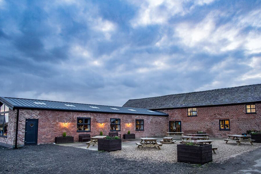 The Hayloft Cheshire Exterior